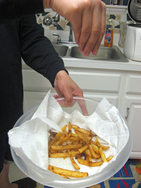 Making Fries the Les Halles Way - Matters of Varying Insignificance